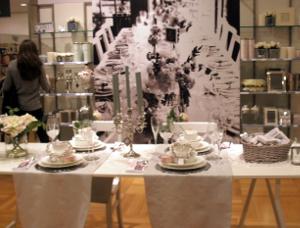 John Lewis Cambridge China Display