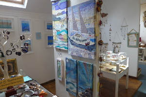 Nautical Textiles and Paintings by Create Display