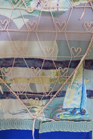 Detail of Shipshape Heart Hanger
