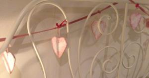 Bedhead Heart Bunting
