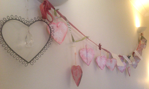 Sitting Room Heart Bunting