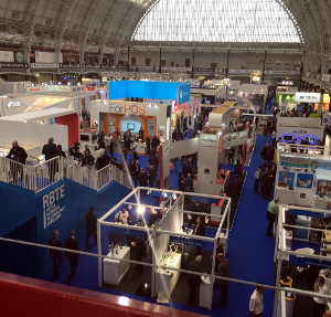 Hall at Retail Expo Olympia