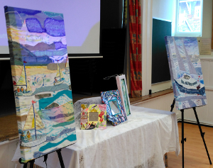 Create Display Talk with Textile Art
