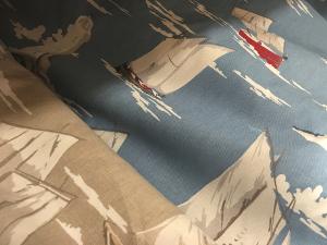 'Skipper' fabrics at Falcon Fabrics