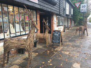Bosham Walk Reindeer Entrance