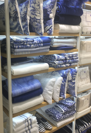 Zara Home textile display