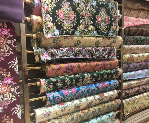 Fabric display El Corte Ingles