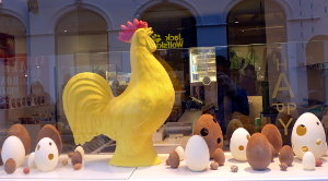 Chocolate Hen Brussels mall