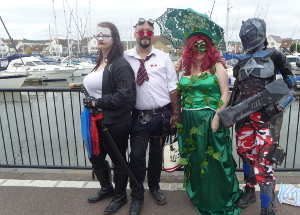 TangoMike Cosplay Comicon Port Solent