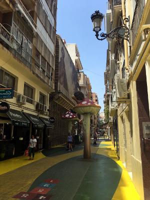 Calle SanFransico Alicante