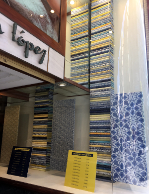 Lopez Fabric Shop Entrance