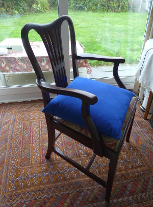 New John Lewis Cushion on Vintage Chair