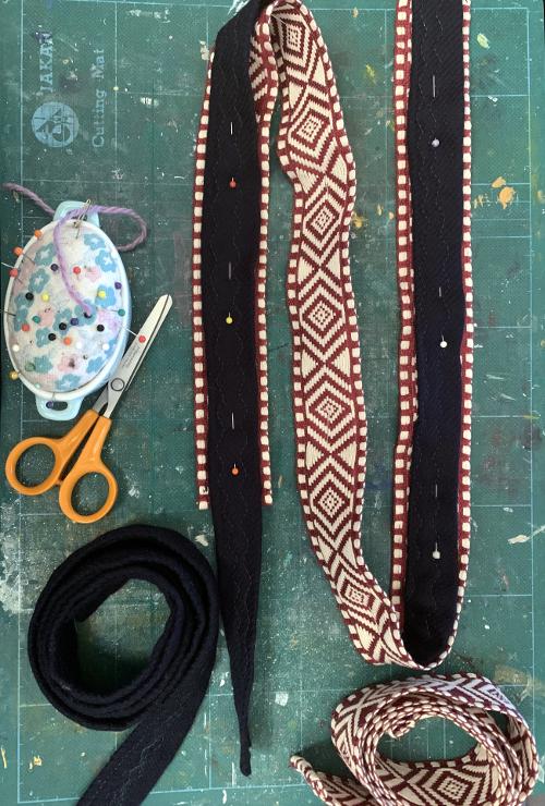 Boho bag straps