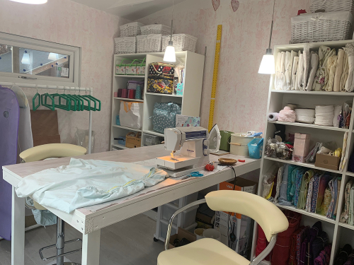 Create Display garden studio interior