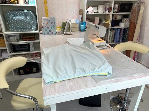 Create Display garden studio sewing