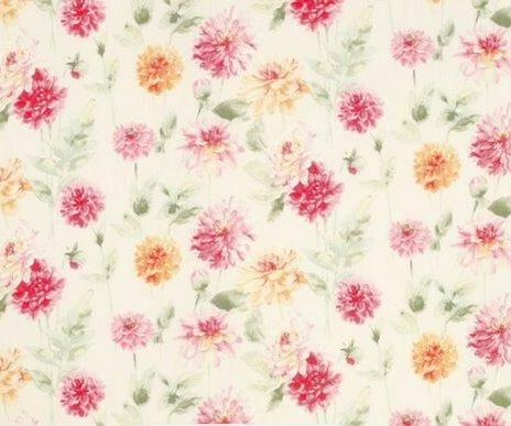 Dhalia Parade in Pink Grapefruit by Laura Ashley