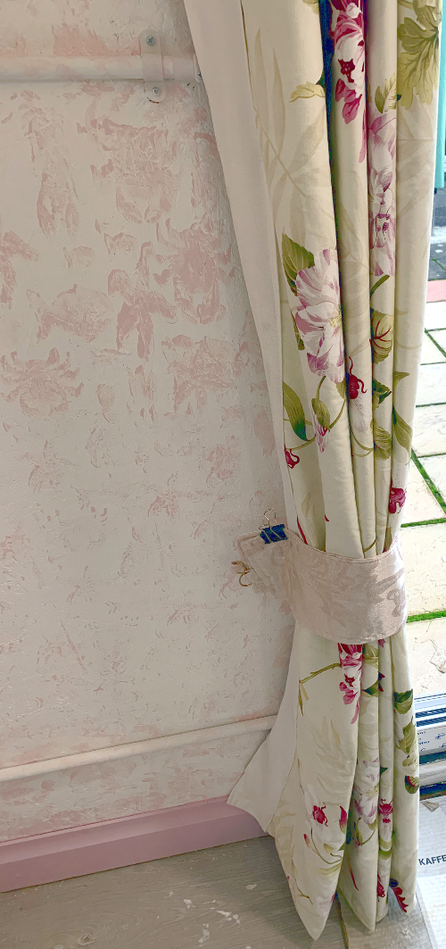 Garden Studio Curtains by A Howse with Tie Backs
